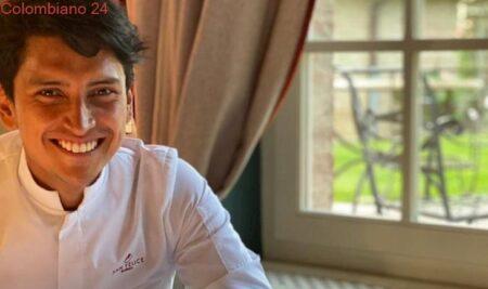 Chef colombiano alcanzó una estrella Michelin en Italia
